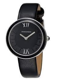 часы женские ROMANSON RL3239LW BK