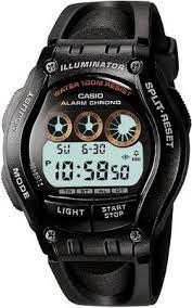 часы мужские CASIO W-754H-1AVEF