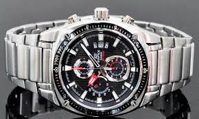 часы мужские CASIO EF-553D-1AVEF