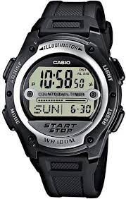 часы мужские CASIO W-756-1AVEF
