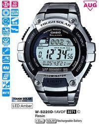 часы мужские CASIO W-S220D-1AVEF