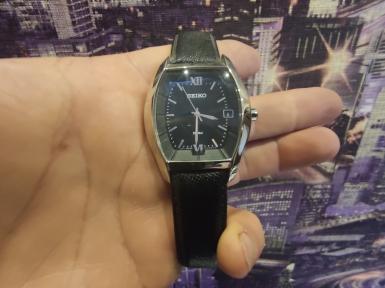 Мужские кварцевые часы SEIKO SGEC81P1