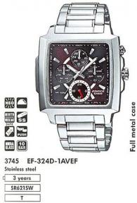 часы мужские CASIO EF-324D-1AVEF
