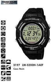 часы женские CASIO LW-S200H-1A